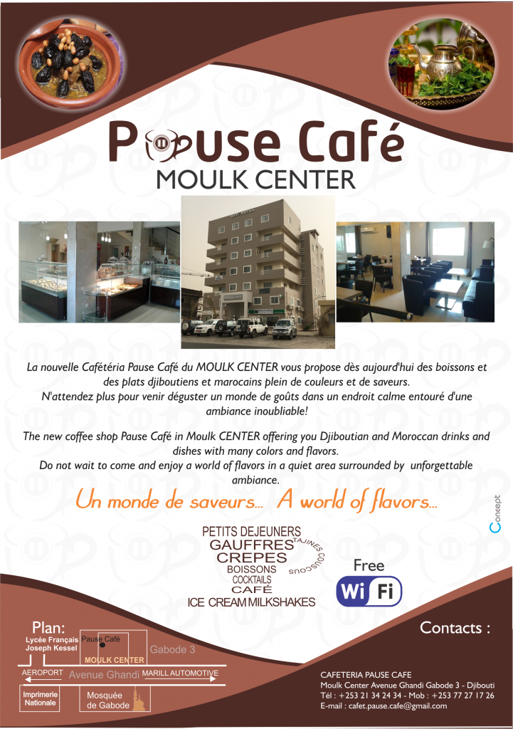 Moulk Center Appart Hotel pause café