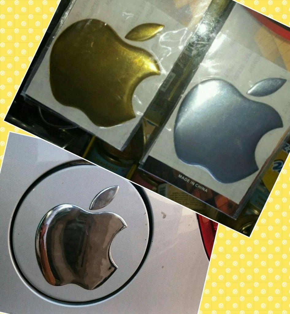Autocollant de la marque à pomme ''Apple''