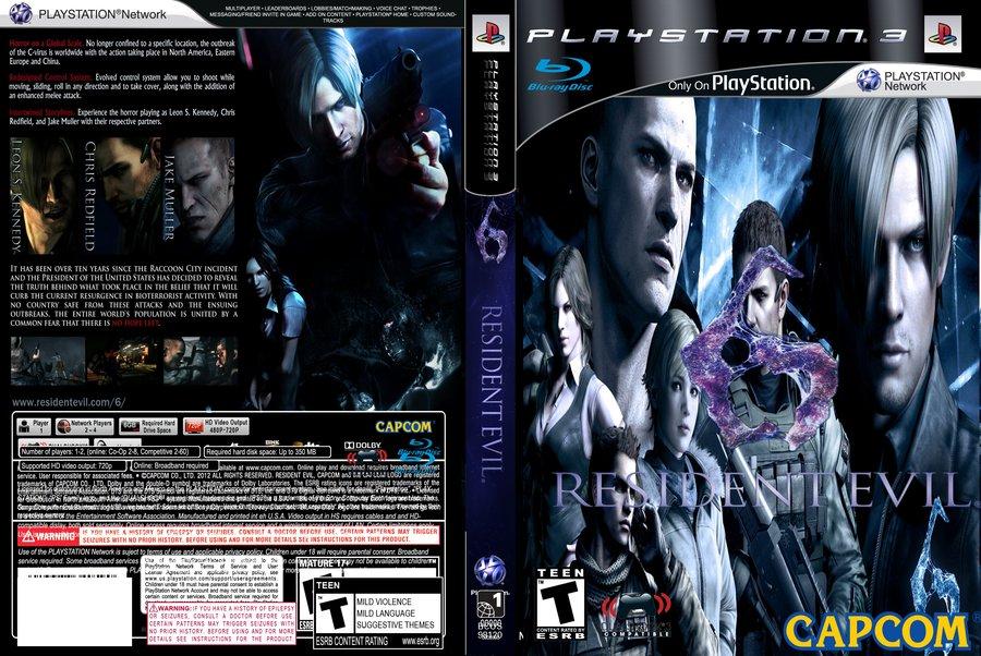 CD PS3 Resident Evil 6