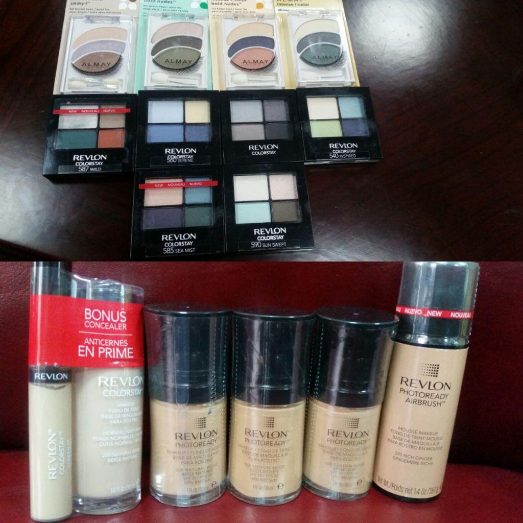 Maquillage de marque Revlon & Almay