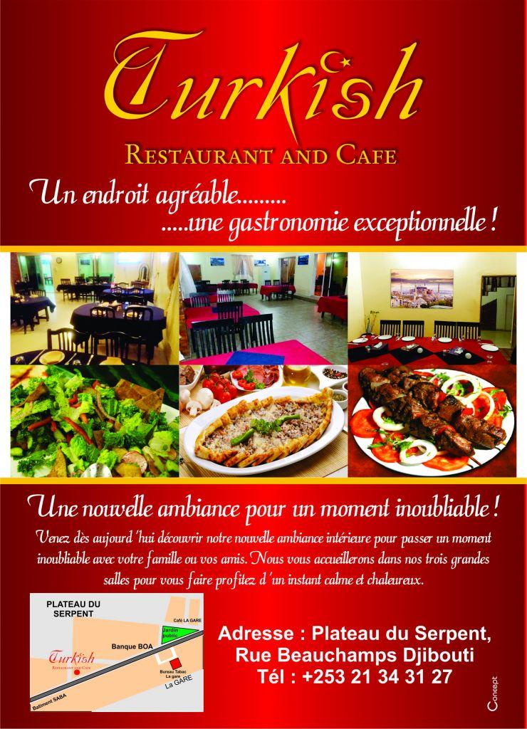 Restaurant Turque Ouvre ses portes