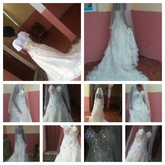 Robe blanche à louer