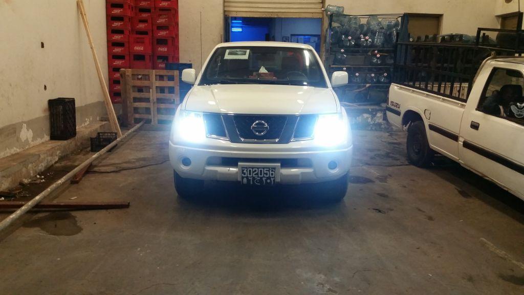 Nissan NAVARA Blanc-Nacré