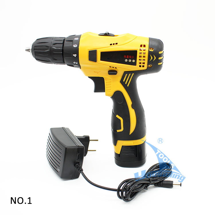 Perceuse, Drill sans fil Screw driver rechargeable