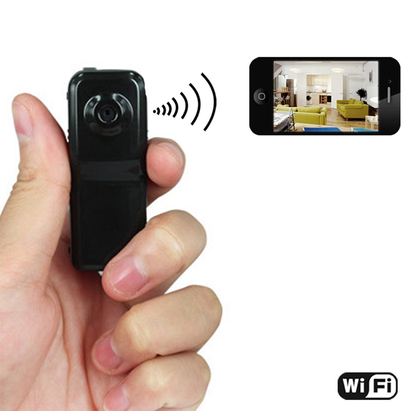 Mini Portable Caméscope Wifi Sans Fil de Sécurité
