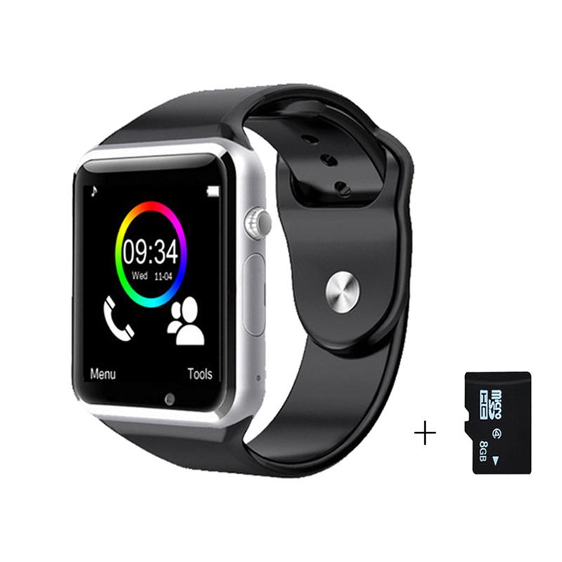 Smart Watch Bluetooth Sport Podomètre Avec SIM Caméra Android multi langue