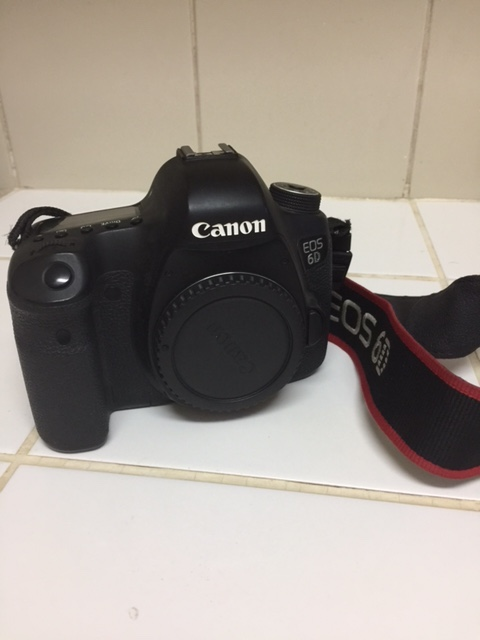 Appareil photo Canon 6D