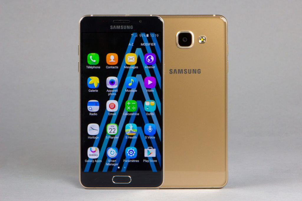 Galaxy A5 2016 en or