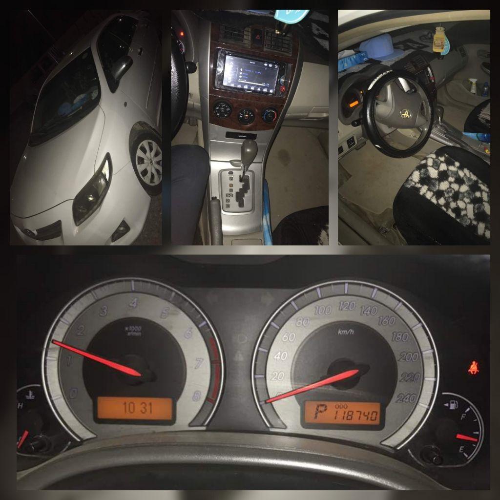Voiture Toyota corrola
