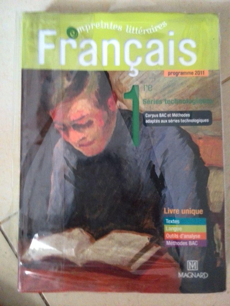 manuel FRANCAIS STMG Lycée Français 2017-2018
