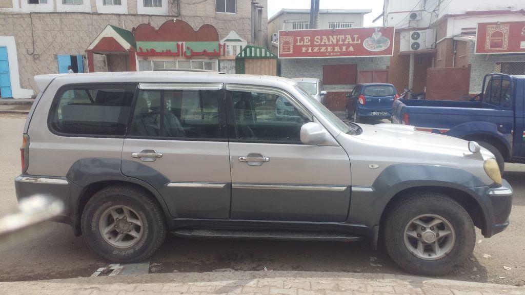voiture Hyundai terracan a vendre