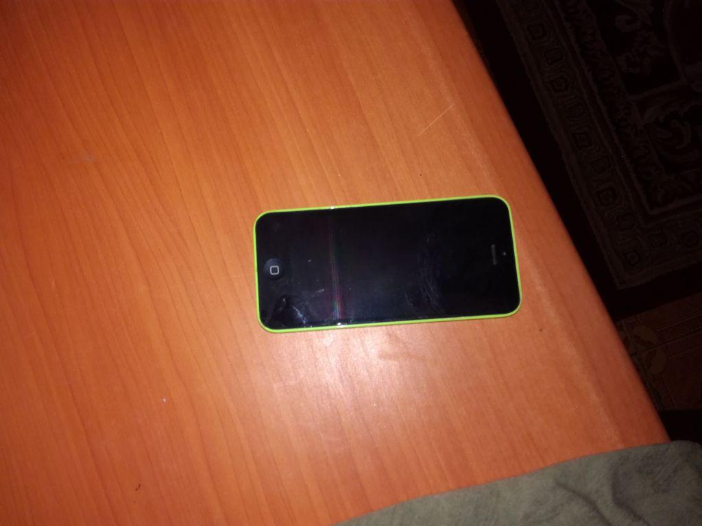 Iphone 5c vert