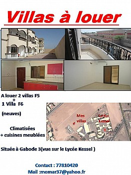 Location villa à gabode 3