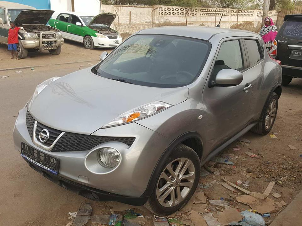 Nissan juke année 2012