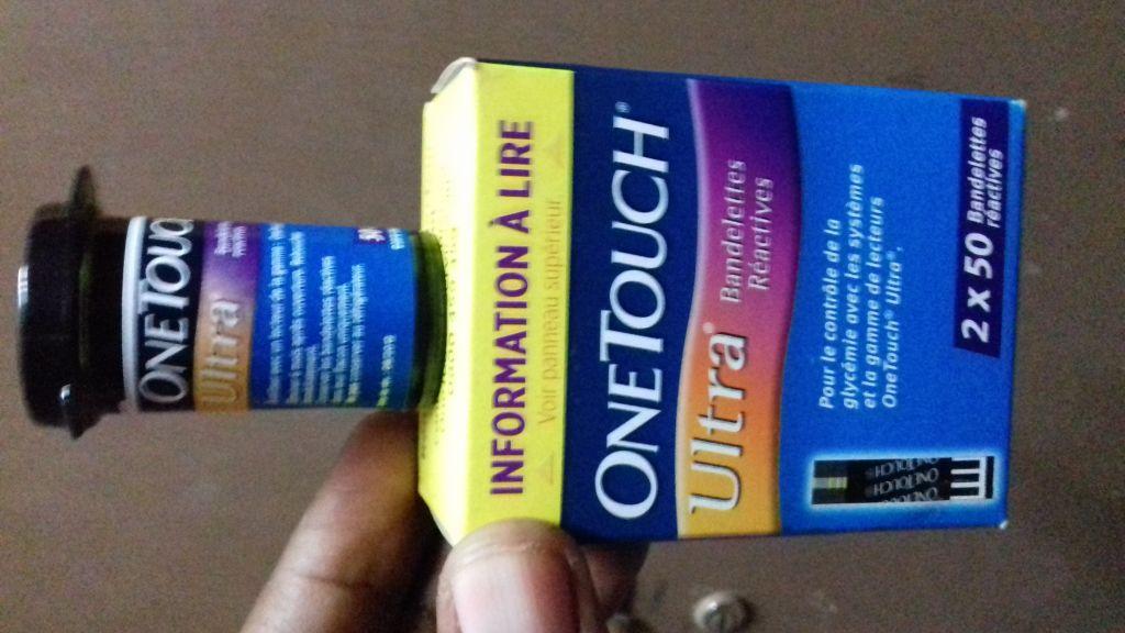 Bandelettes pour controle de glycemie