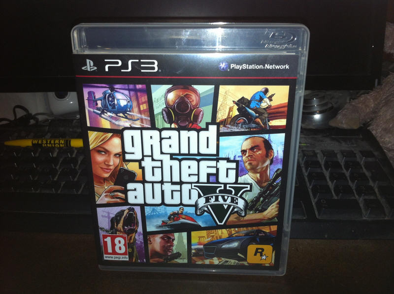 Jeu PS3 GTA 5
