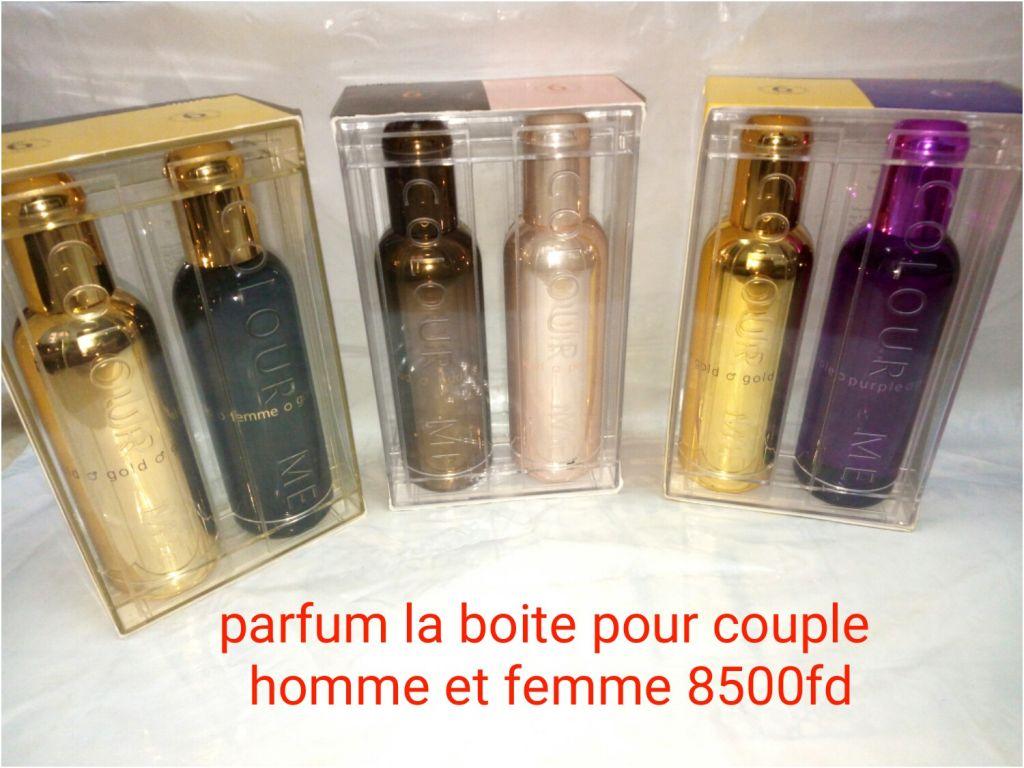 Parfum homme et femme