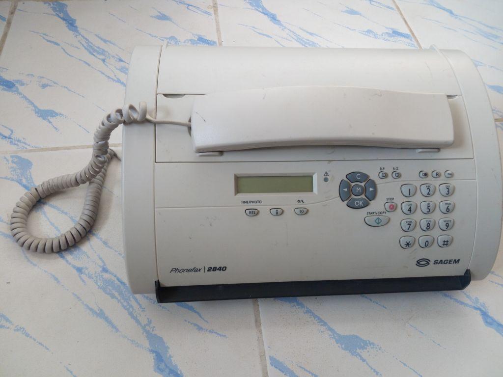 Fax-téléphone