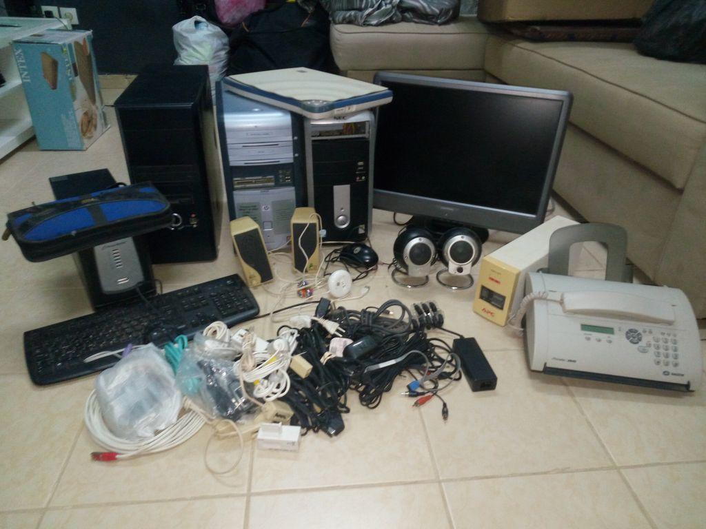Un lot de matériels d'informatique à négocier
