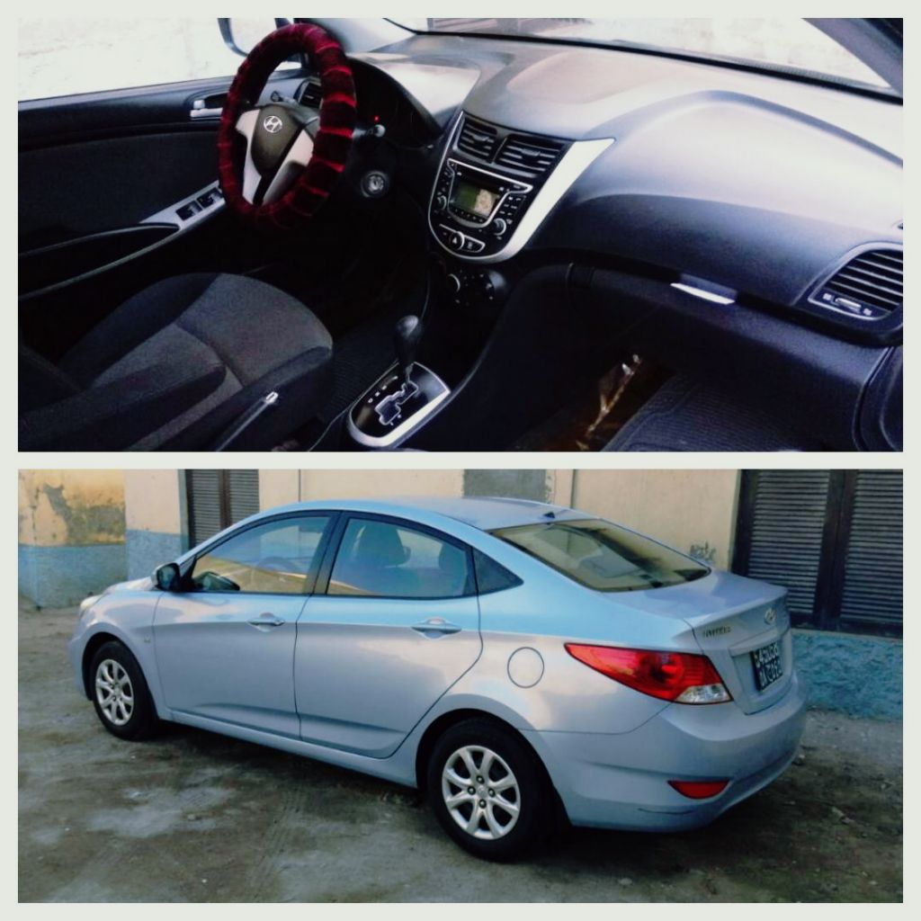 Voiture Hyundai accent model 2012