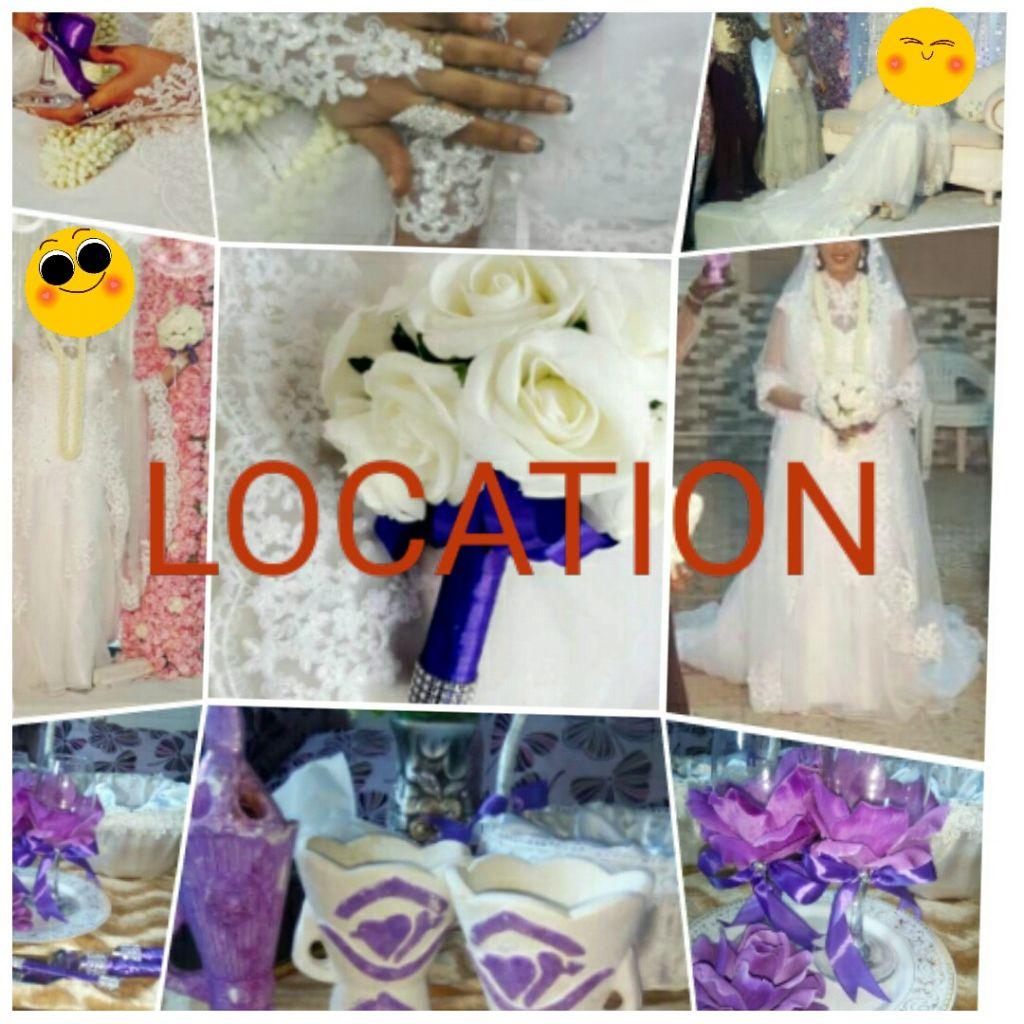 Location robe de mariage