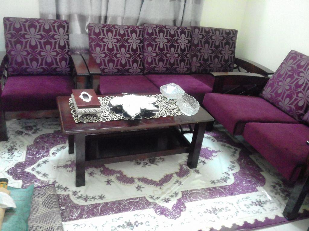 Salon en bois malaisien