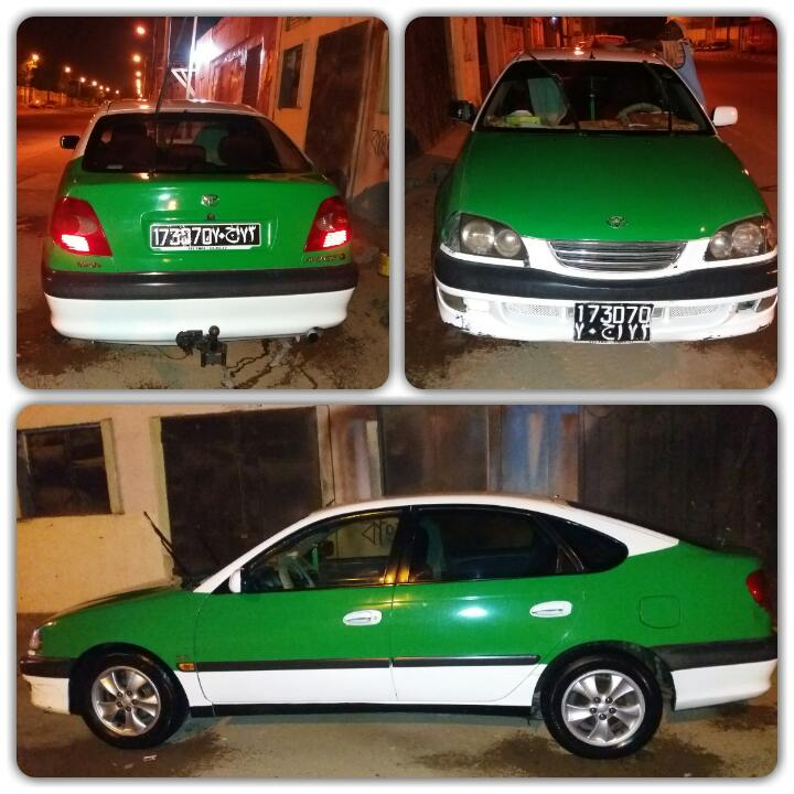 taxi a vendre avensis