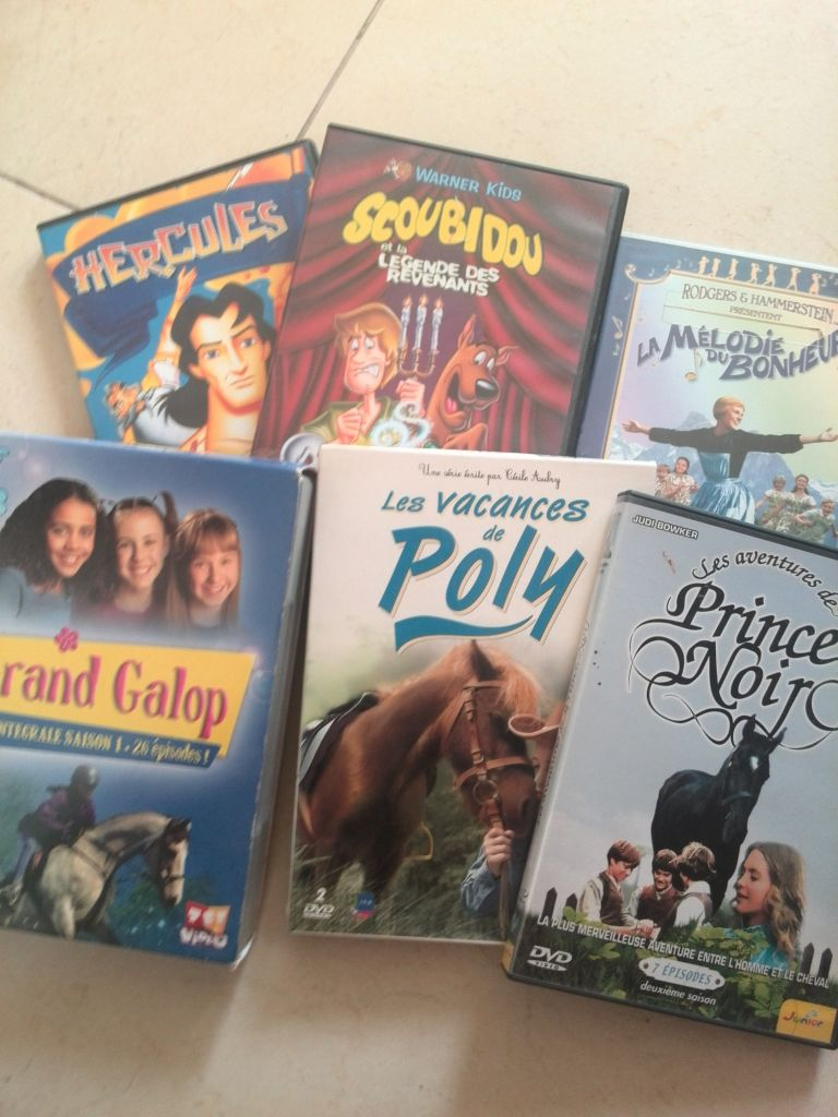DVD FILMS JEUNESSE