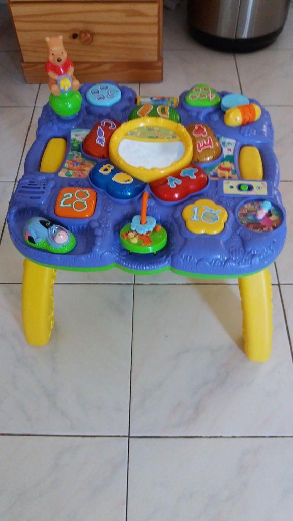 Table d'éveil musical pour enfants