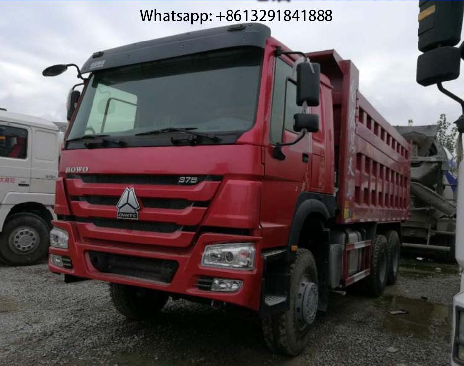 Camion à benne basculante HOWO 5.8 m 375ch