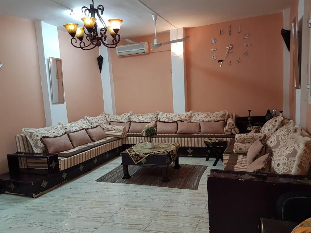 Salon marocain en bois massif
