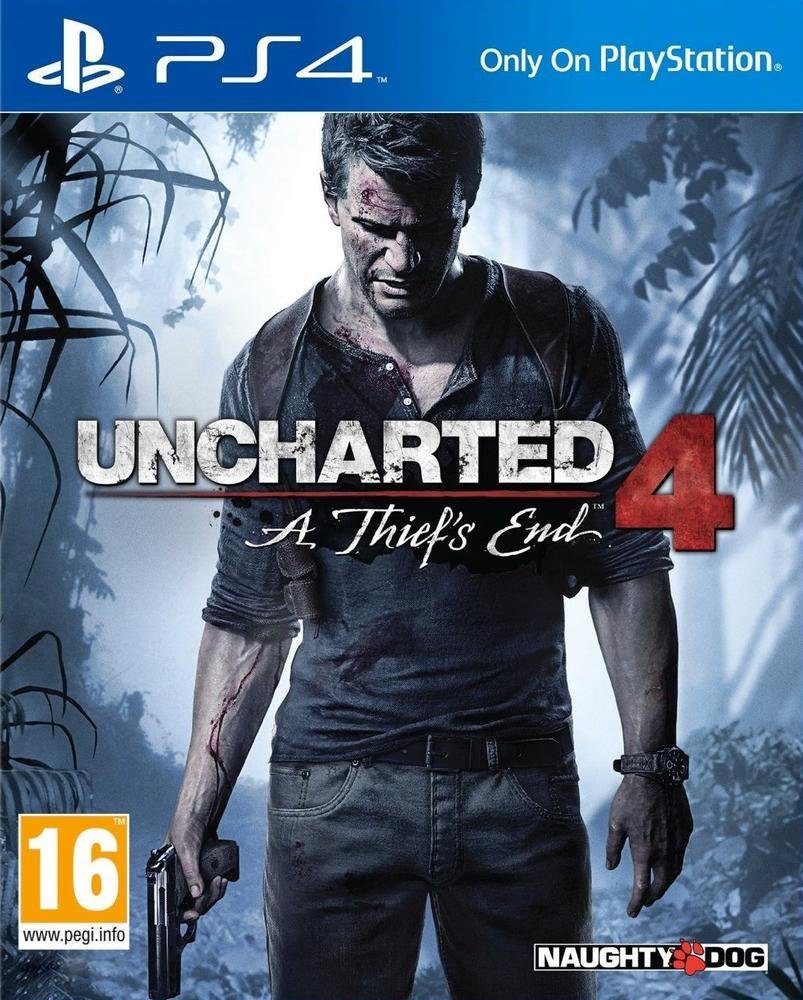Jeu ps4 uncharted 4