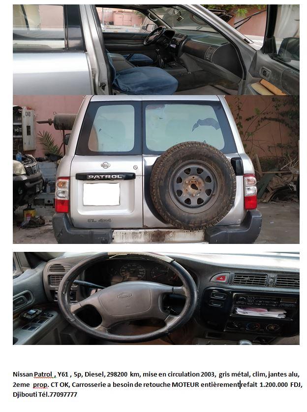 Nissan Patrol Y61 2002