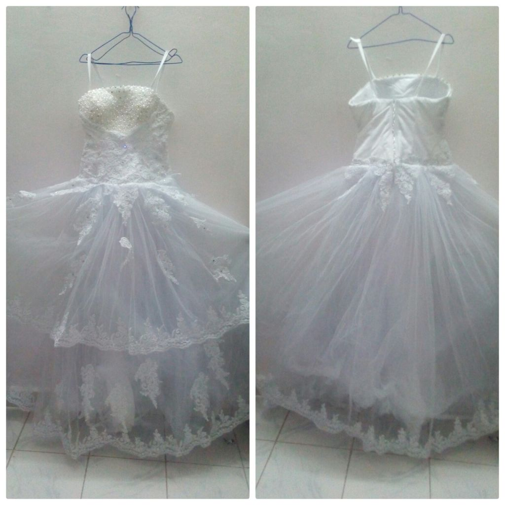 Robe blanche de mariage