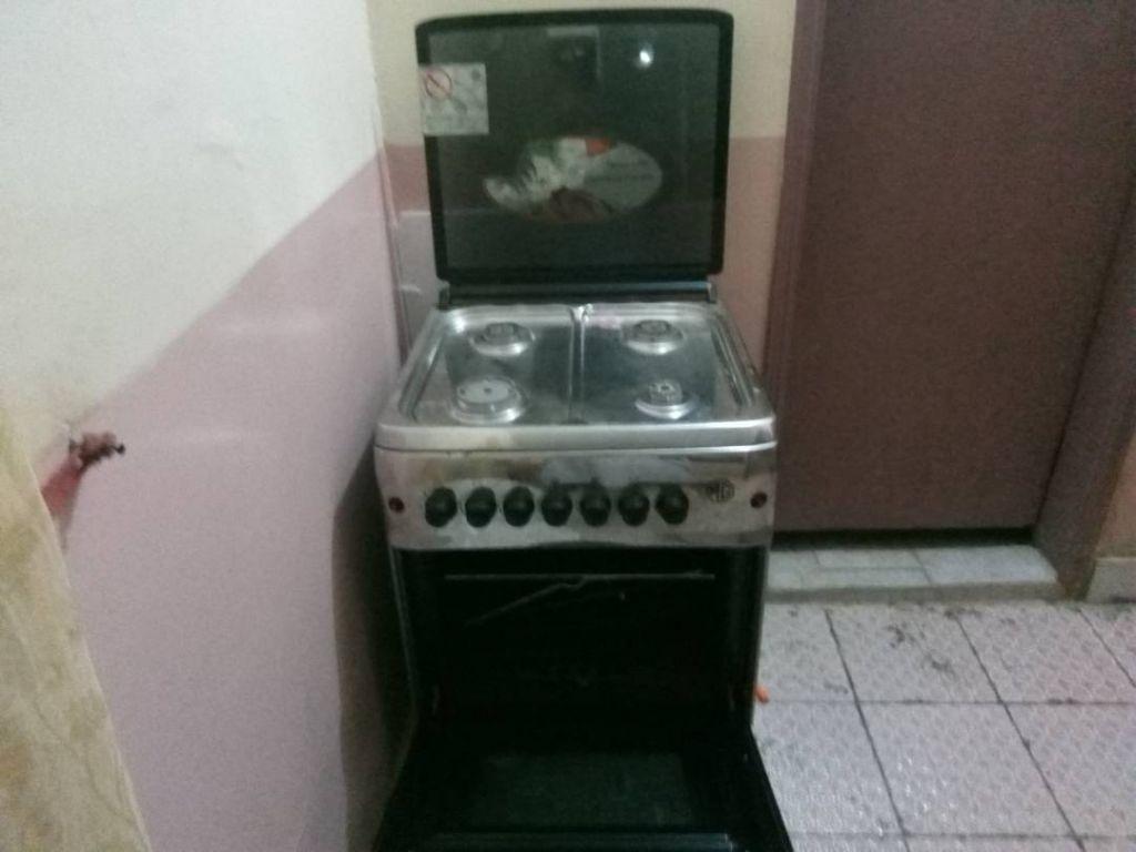 Vente d'une cuisinière à gaz
