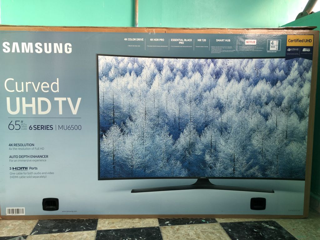 "65"" Samsung Curved UHD TV"