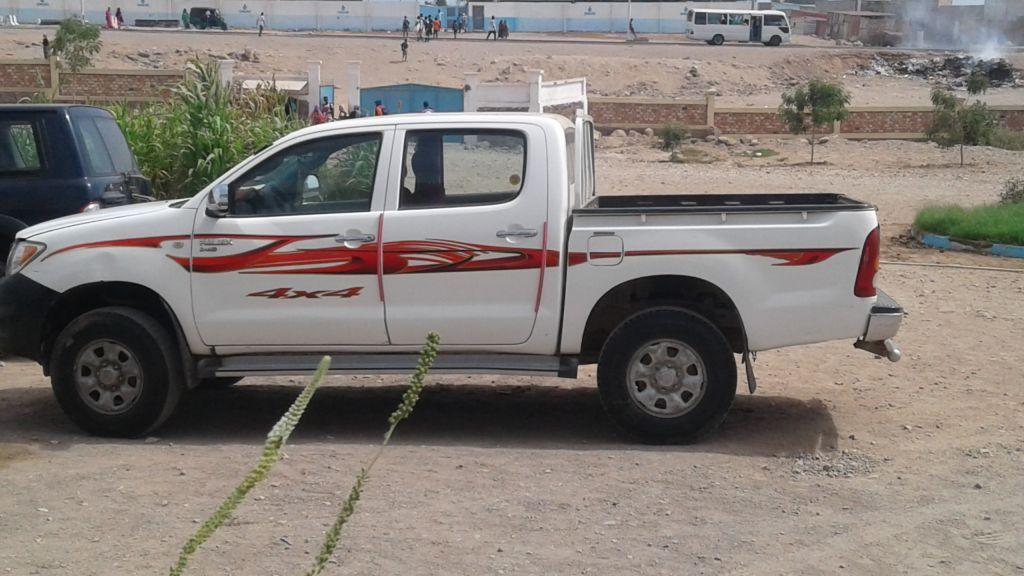 A vendre Toyota hilux pick up.