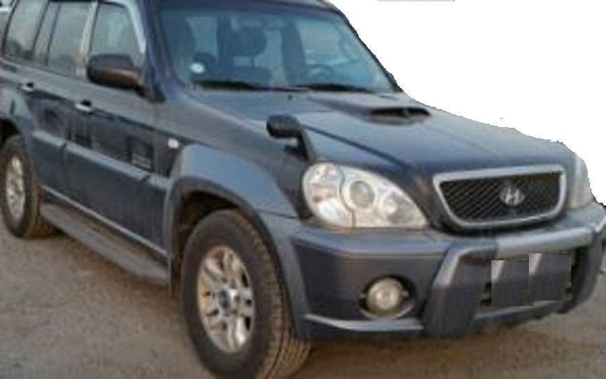 2003 Hyundai Terracan JX290 4WD M/T