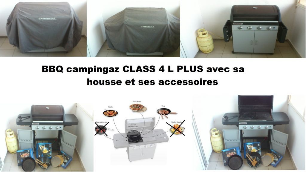 Barbecue campingaz made in France