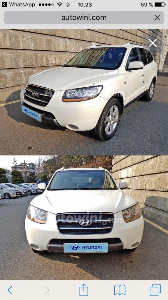 Hyundai Santafe CM MLX 2008 (MONITOR+FULLAUTO+LEATHER)