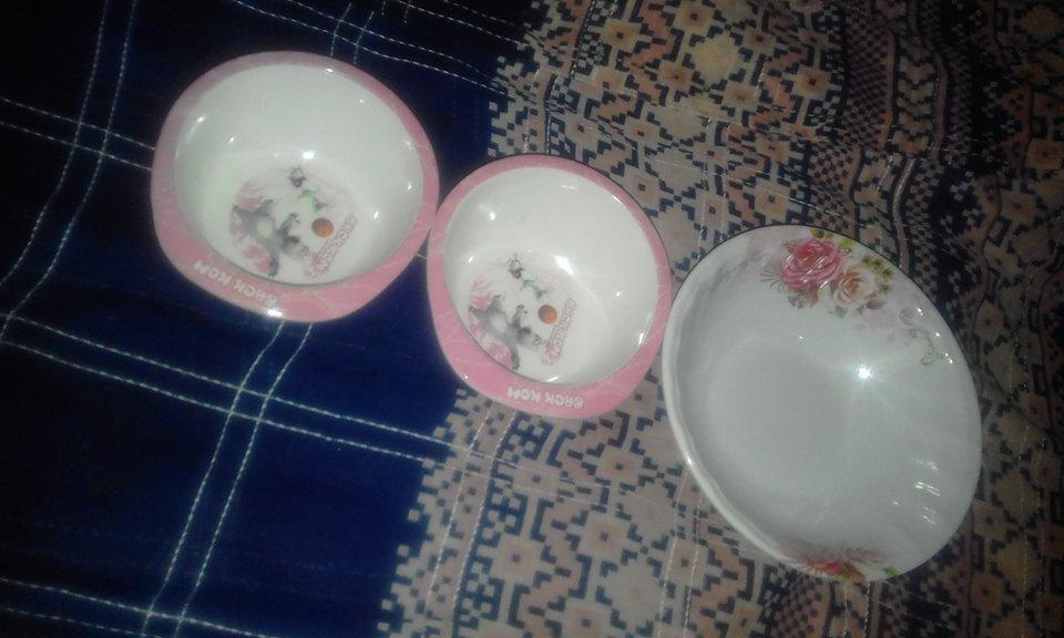 Petit bols pour le labania du ramadan