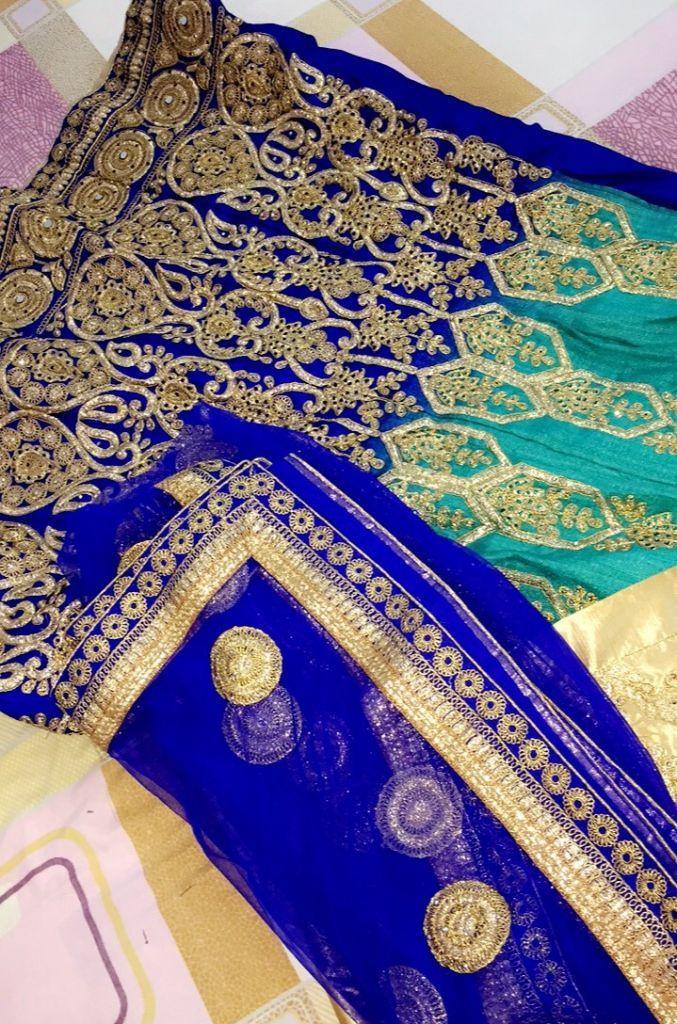 Tenue indienne pour mariée