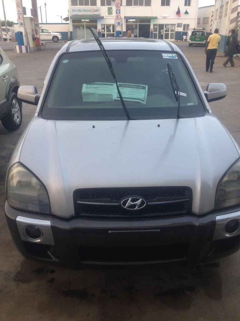 Hyundai Tucson modèle 2004