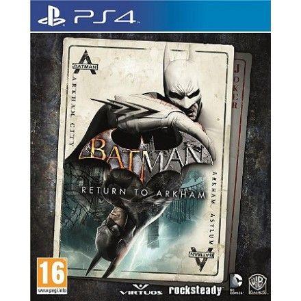 2 CD PS4 the order 1886 et batman return to arkham