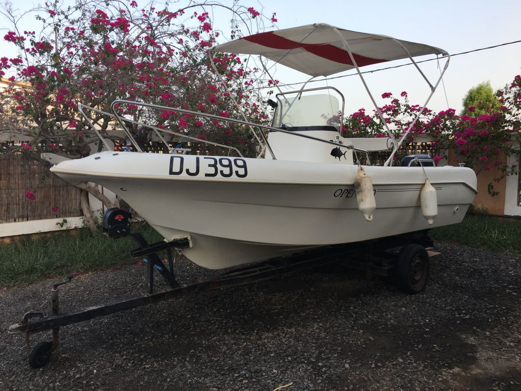 Bateau - Pacific craft open 500