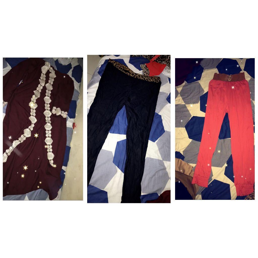 Trois vêtement