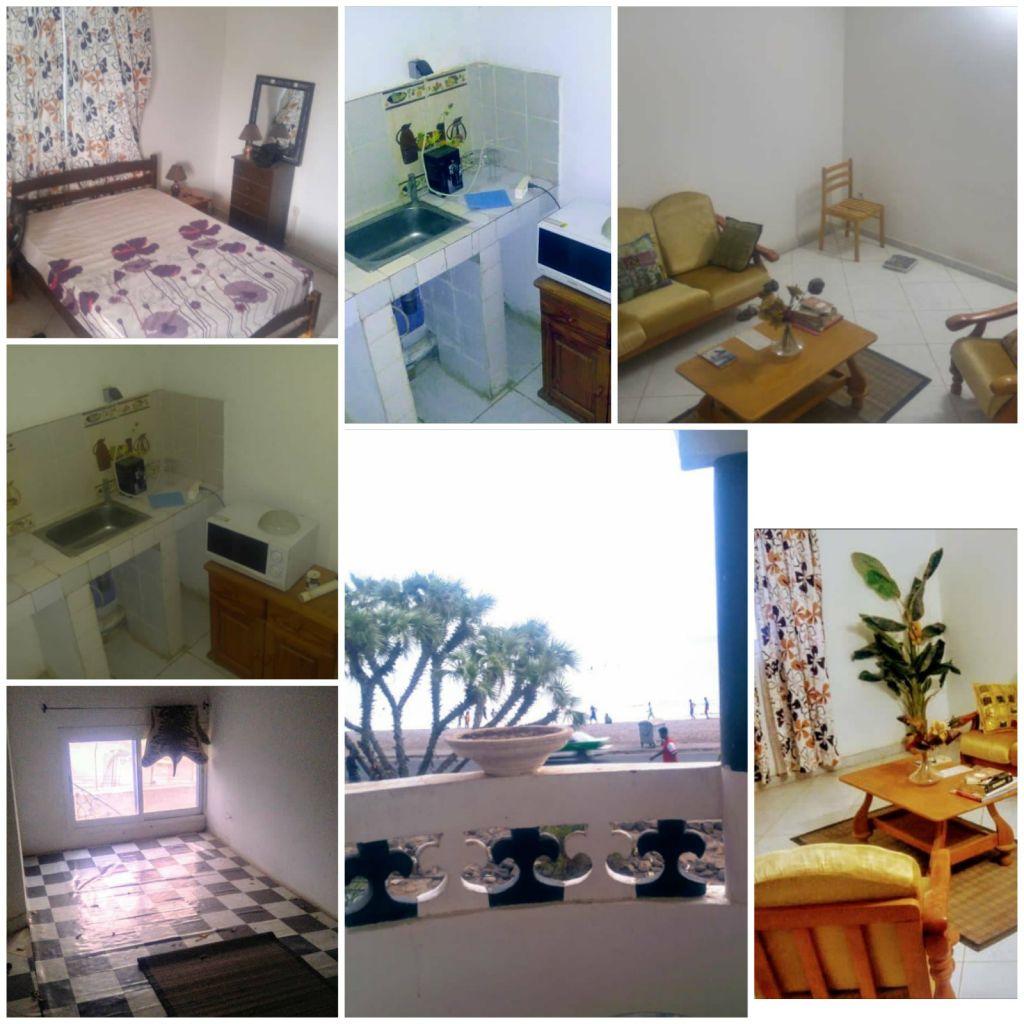 Villa F3 meublée située en face de plage Siesta