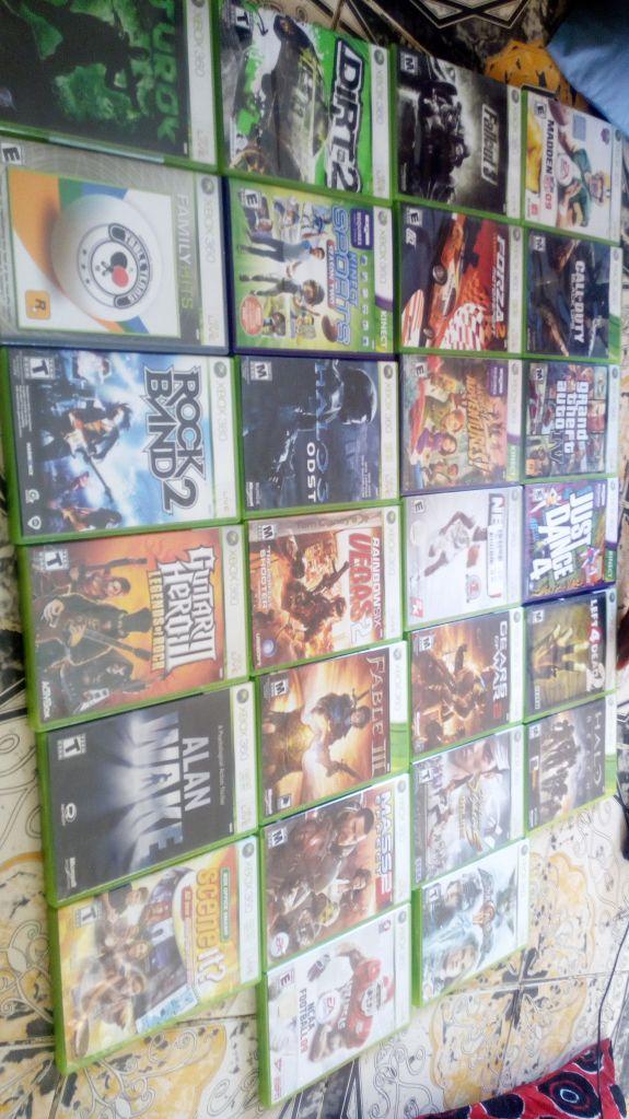 Xbox 360 + 26 CD