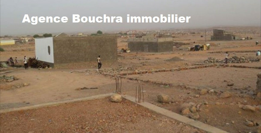 Bouchra immobilier terrain de 160m2 situé a barwaqo 2