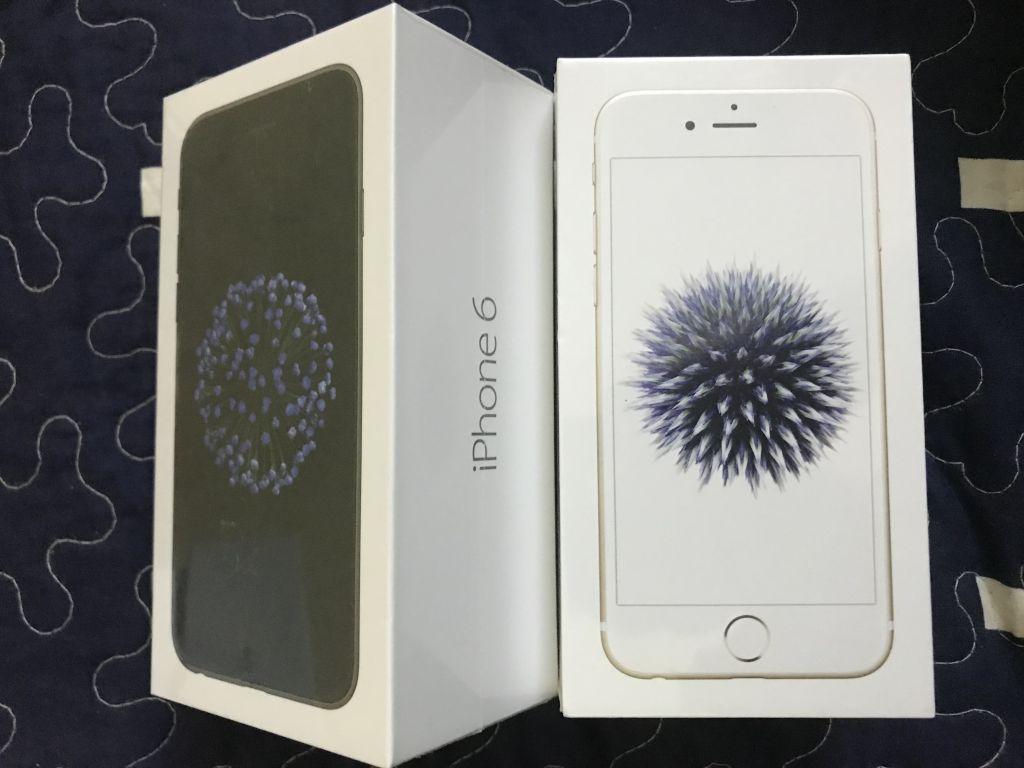Produit Apple iPhone 6 32GB gold carton d'origine
